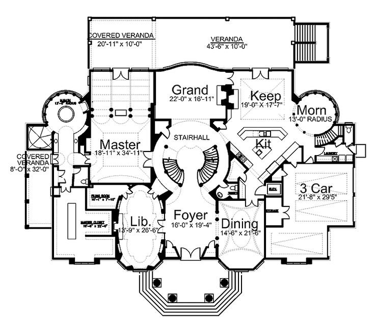 17 Best Images About Floorplans On Pinterest Luxury