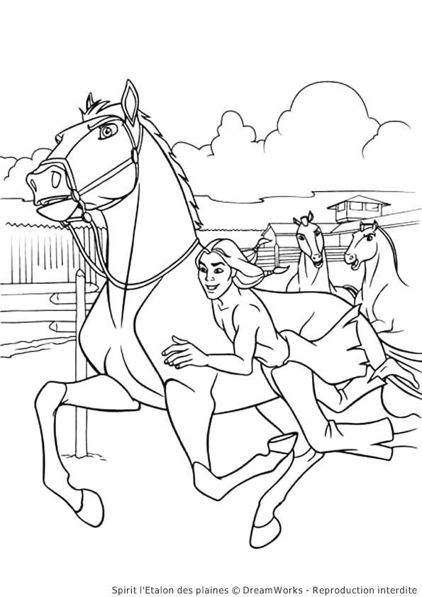 19 best Coloring Pages/LineArt-Dreamworks-Spirit: Stallion ...