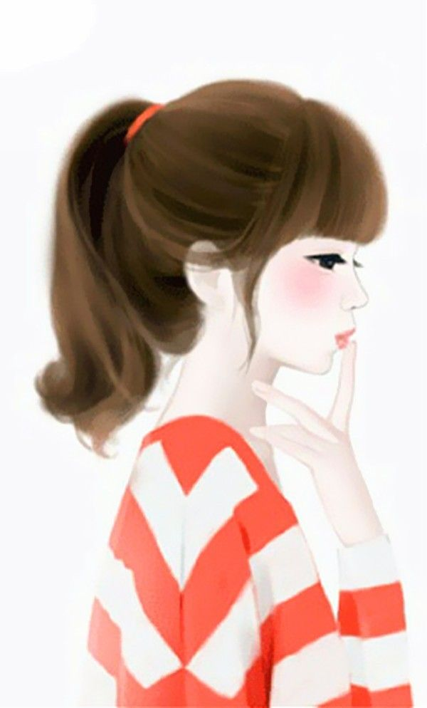 Painting Girls Life Goes On Pinterest Cute Illustration