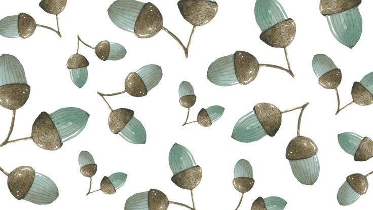 Downloads: Acorn Wallpaper - Simple + Beyond