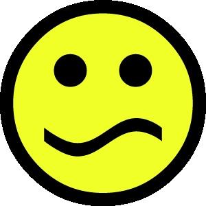 smiley 1 verward FC sticker