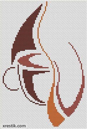 Схема для вышивки art stitch
