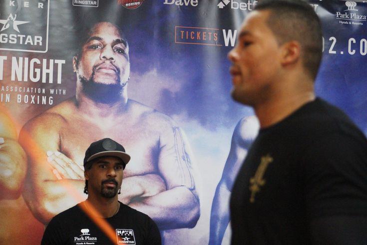 """David Haye And Joe Joyce Send Messages To Dereck Chisora – """"Don't Be Scared"""" #News #allthebelts #boxing"""