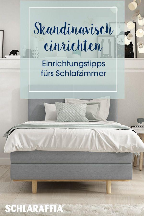 Einrichtungstipps fürs Schlafzimmer. #Scandi #Schlafzimmer ...