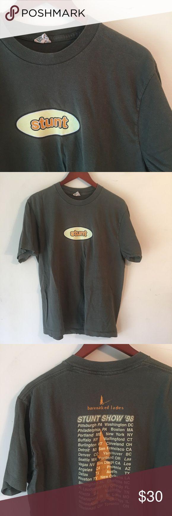 Barenaked Ladies tour t shirt From the 1998 Stun Show tour. Shirts Tees - Short Sleeve
