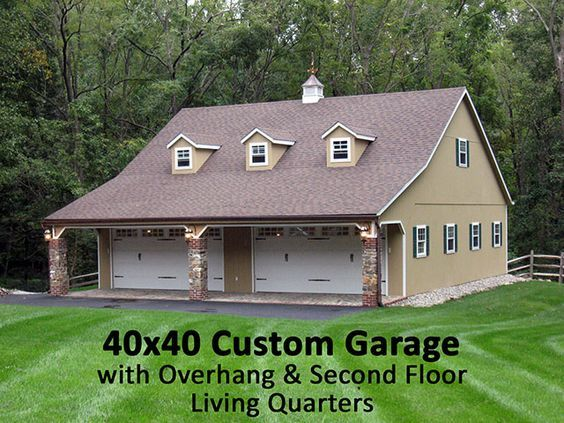 32 best garages images on pinterest garage ideas garage for 40x40 garage