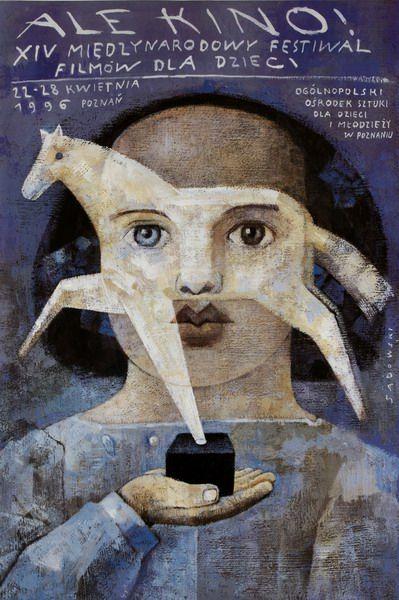 Sadowski Wiktor 'International Film Festival' - Polish Movie Poster, 1996