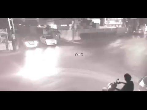 Disso Voce Sabia?: CHINA - Câmera de Monitoramento de tráfego capturou um evento estranho e Bizarro!!