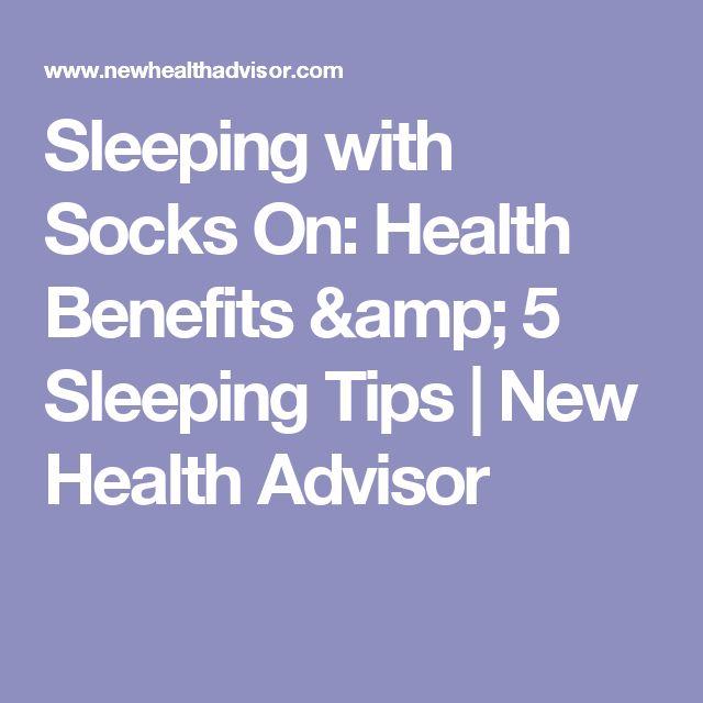 Sleeping with Socks On: Health Benefits & 5 Sleeping Tips | New Health Advisor