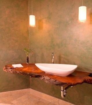 Natural Spa with Urban Sophistication - asian - bathroom - seattle - Christine Suzuki, ASID, LEED AP