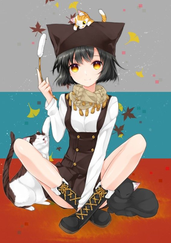 Anime cat girl anime art pinterest i love cats - Anime kitty girl ...