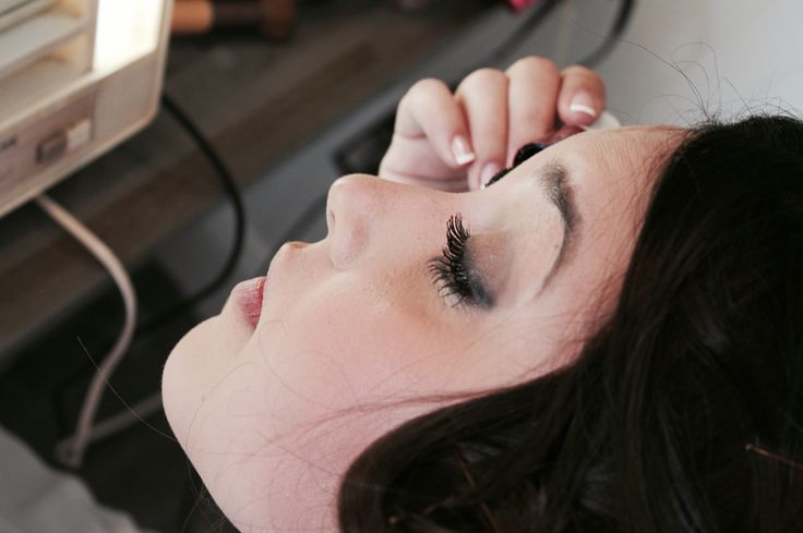 #makeup#bridal#bride#bronze#before#preparation#skin#eyelashes#wedding#day