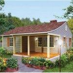 Casa pequeña de 2 dormitorios y 70 metros cuadrados