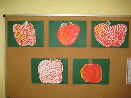 Αποτέλεσμα εικόνας για apfel malen im kindergarten