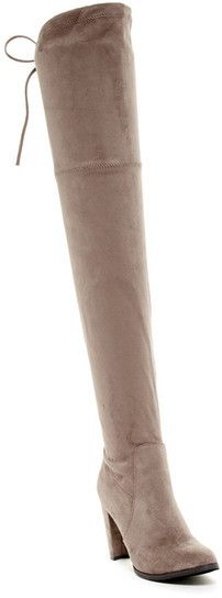 Catherine Catherine Malandrino Sorcha Faux Fur Footbed Over-The-Knee Boot Affiliate Link