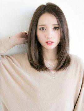 柔らかナチュラルストレート☆ - 24時間いつでもWEB予約OK!ヘアスタイル10万点以上掲載!お気に入りの髪型、人気のヘアスタイルを探すならKirei Style[キレイスタイル]で。