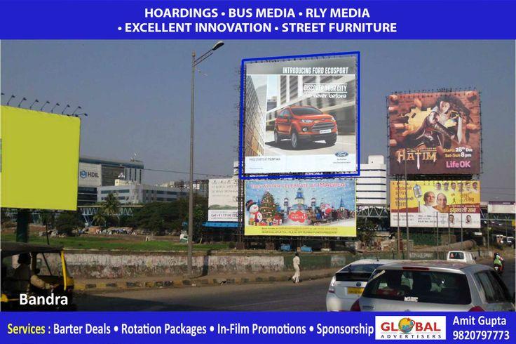 #Outdoor #Hoarding #Advertising of #Ford #car @Bridget Andrade