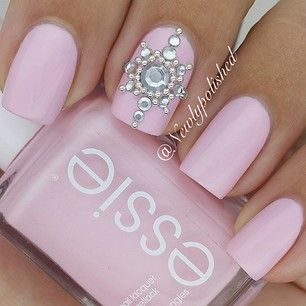 Best 25 Jewel Nails Ideas On Pinterest