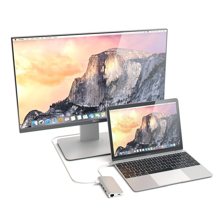 Amazon   USB Cハブ Satechi サテチ 充電用パススルー付きType C ハブ 4k HDMI出力 SD/Microカードリーダー 3つのUSB Type Aポート (シルバー)   Satechi   USBハブ通販