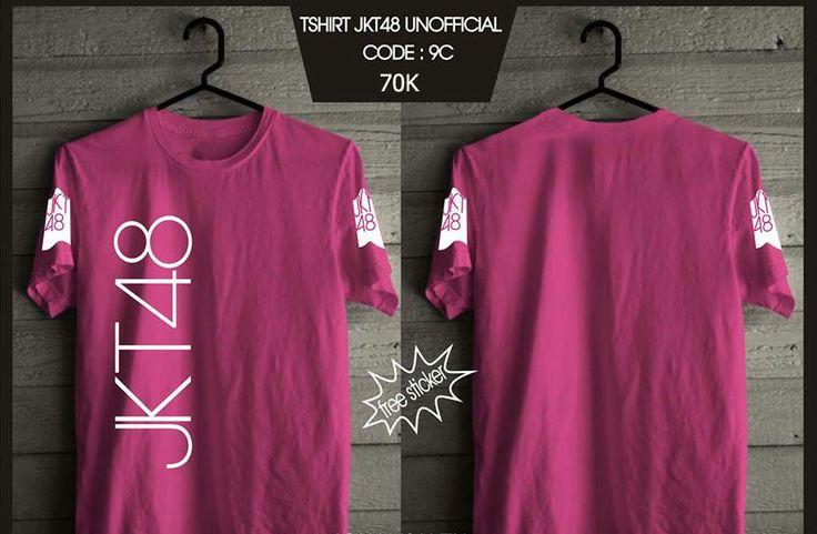 Kaos JKT48 - Trainee Pink -  SMS 0838 077 97257