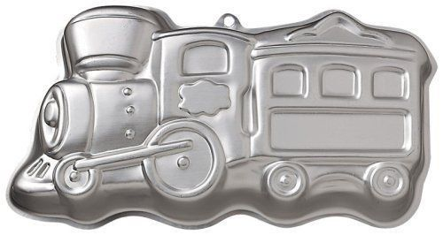 Wilton Birthday Cake Choo Choo Train Pan -- Click image for more details.(This is an Amazon affiliate link)