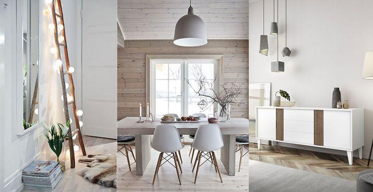 """En nuestro último post """"Cómo conseguir un look escandinavo en tu hogar"""", te damos todas las pistas para tener un hogar de estilo nórdico ¡No te lo pierdas!#hogar #diseño #decoración #DugarHome #interiores #despacho #escandinavo"""
