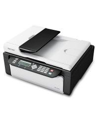 The new multifunction printer that's supplemented with a decent printing speed and a high memory of 32 MB Ricoh SP 100SF. It has a printing speed of 13PPM and a copy speed of 13 CPM. In Fax specification, it has a modem speed of 33.6Kbps. Ricoh SP 100SF is the world's thinnest printer with genuine refill toner. Visit : http://ricohestore.co.in/printers/multifunctionals.html