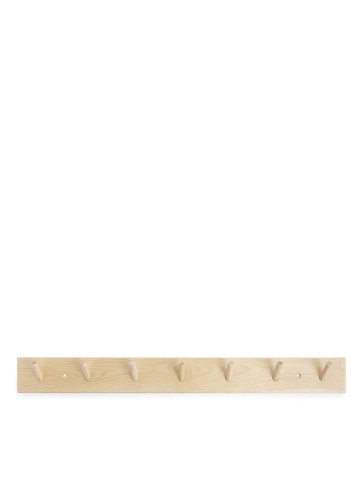 Iris Hantverk Rack, 7 Hooks - Beige - Home - ARKET SE