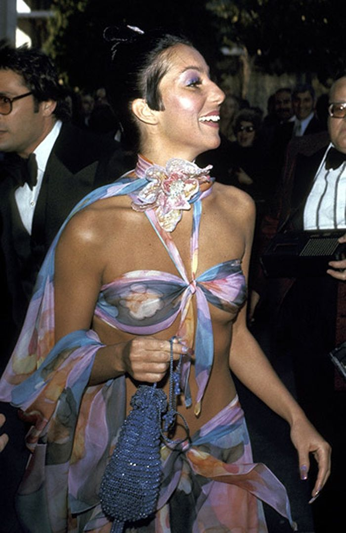 Cher at the 46th Annual Academy Awards – 1974