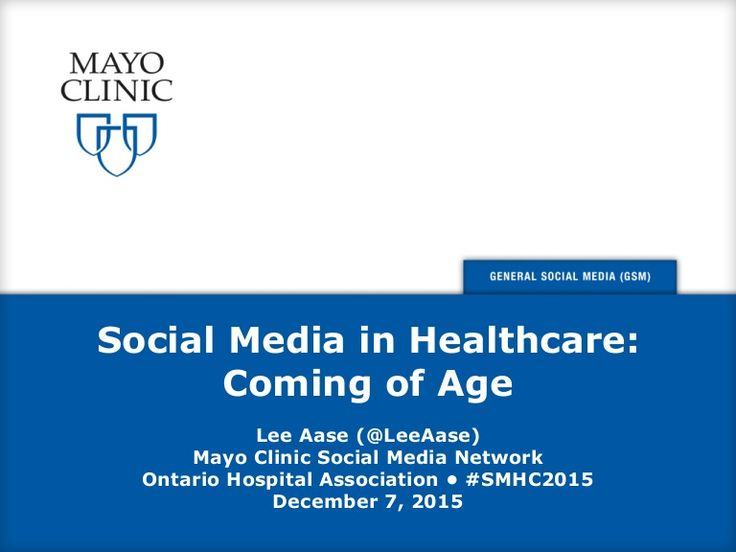 Slides from my presentation this afternoon at the Ontario Hospital Association conference in Toronto