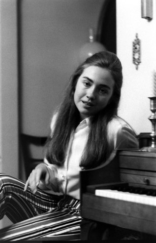 Hillary Rodham (later Hillary Rodham Clinton), Park Ridge, Illinois, June 1969