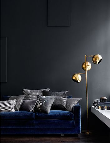 Love the shades of grey and blue look! Pia Ulin.