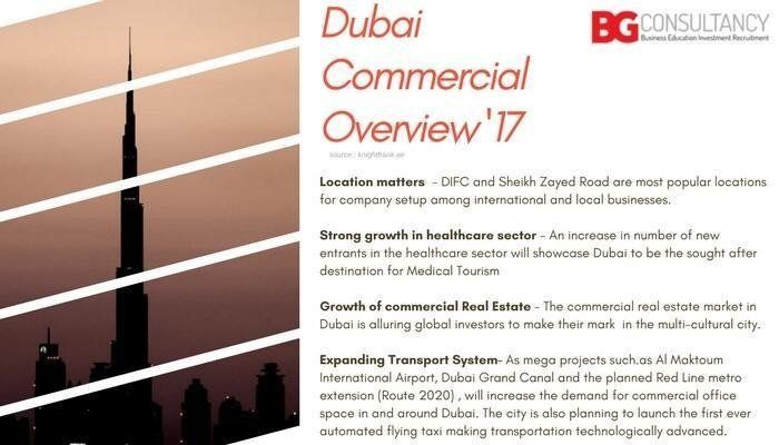 #Dubai #Commercial Overview '17 :) Know more @ https://www.bgconsultancy.eu/business-consultancy.html