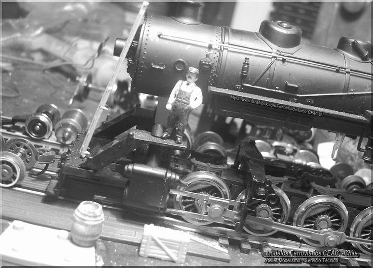 https://flic.kr/p/Db5mZk | Mr. Black en  la maestranza... | -- Ficha Técnica Modelismo #13385-4013 Modelos Ferroviarios CEAC
