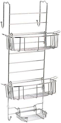 Zenith Products 7803SS Bathstyles Over-the-Shower Door Caddy, Chrome - Listing price: $37.30 Now: $23.31 + Free Shipping