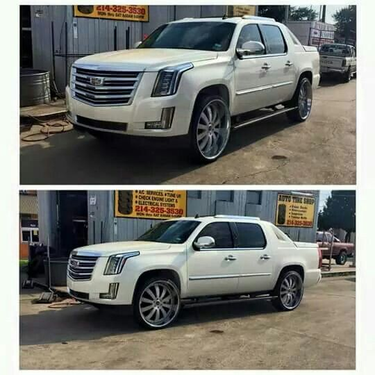2007 Cadillac Escalade With A 2017 Facelift... Looks