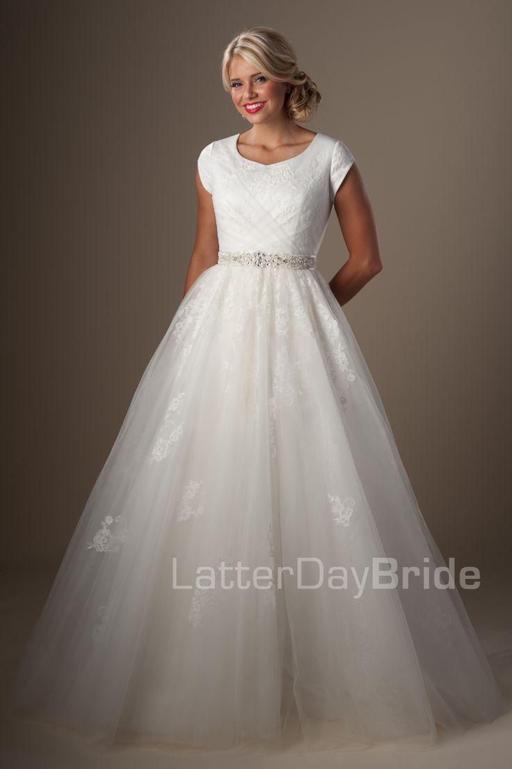 Modest Wedding Dresses : Tomasina. Latter Day Bride, Gateway Bridal & Prom