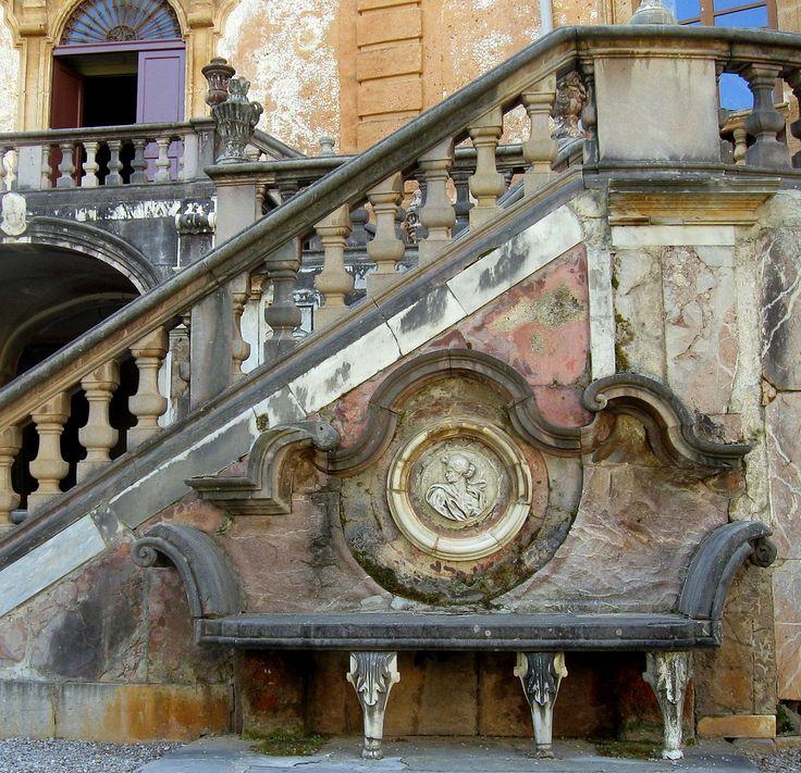 https://flic.kr/p/7VpBbM   Sicily 2010: Palermo 114   Villa Palagonia, in Bagheria (suburb of Palermo).