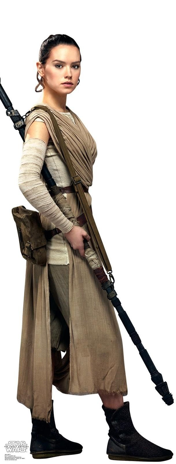 Daisy Ridley - Star Wars: Episode VII - The Force Awakens (2015) (609×1599)
