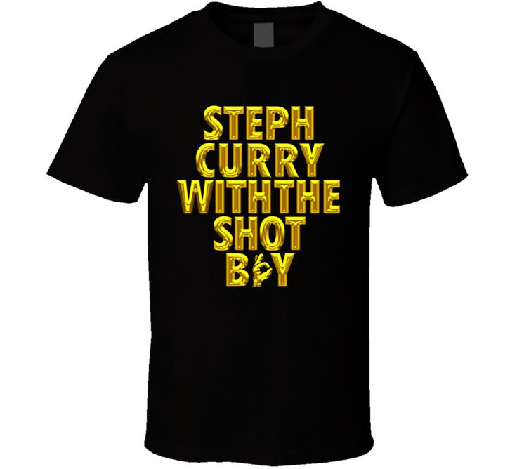 Stephen Curry With the shot boy T Shirt. www.live-tees.com