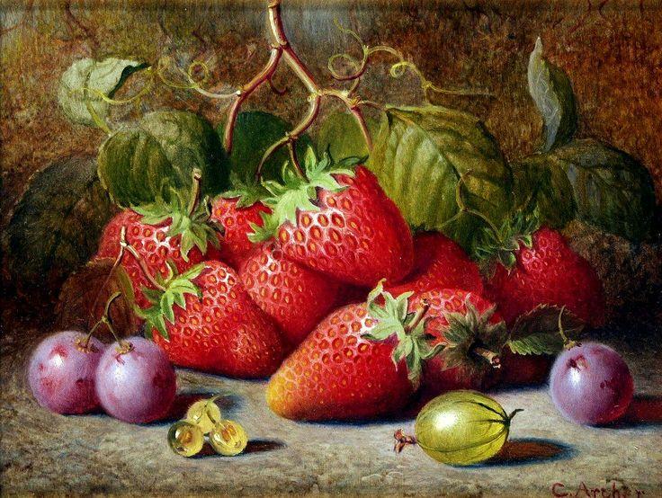 Charles Archer (1855-1931)  — Still Life (1000×754)