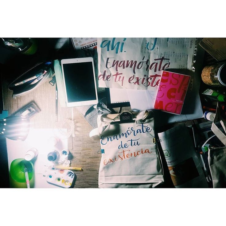 Sunday Night #calligraphy #handwriting #caligrafía #letterlina #catigraphy #waterbrush #lettering #workstation #workdesk