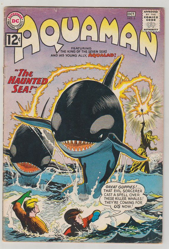 Aquaman Vol 1 5 Silver Age Comic Book.  VG. by RubbersuitStudios