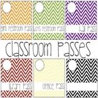 This file includes six cute passes that will fit many classroom themes!  Included:  boys restroom pass, girls restroom pass, library pass, office p...