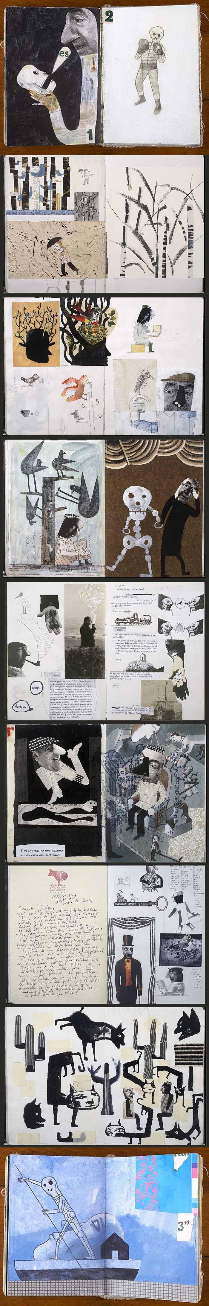 Art Journal/Isidro Ferrer: 2: