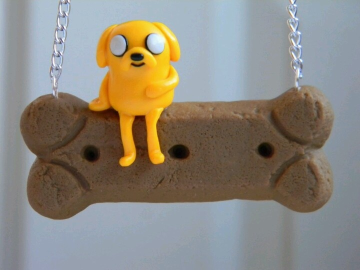 Polymer Clay Jake the Dog