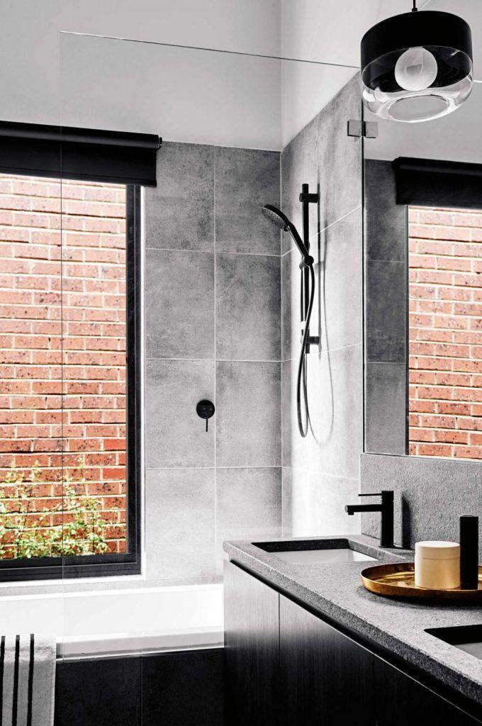 25 beste idee n over industri le badkamer op pinterest badkamer - Ouderlijke suite met badkamer en kleedkamer ...