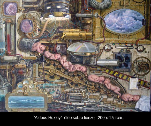 Aldous Huxley. Álex Alemany