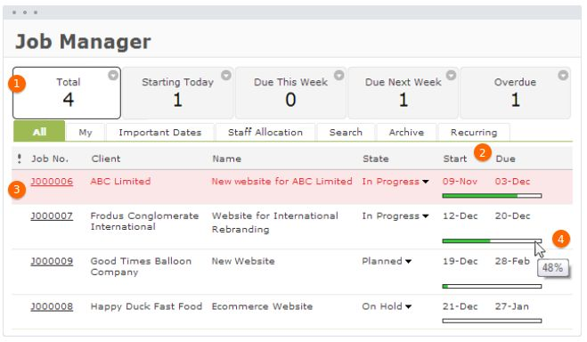 Workflowmax screenshot # 2