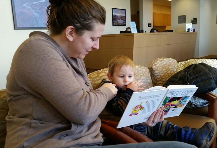 Mom & Me Moment Busy Toddler Riley & Mom, Ashely Nelson are taking time between appointments to enjoy a good story. Thanks to the literary partnership between BookPeople® of Moscow and Pullman Regional Hospital exchange project. For info contact: Noel.Nicolai@pullmanregional.org